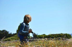 Gabi Ancaroa from The Tiny Book in Naxos, Greece.