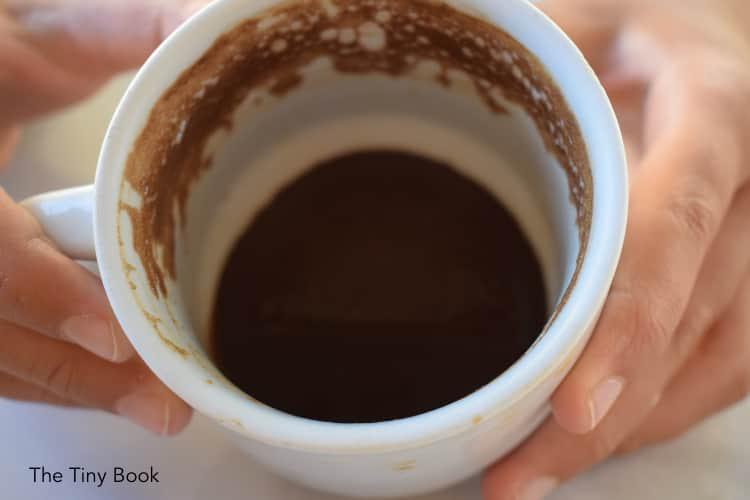 Greek coffee.
