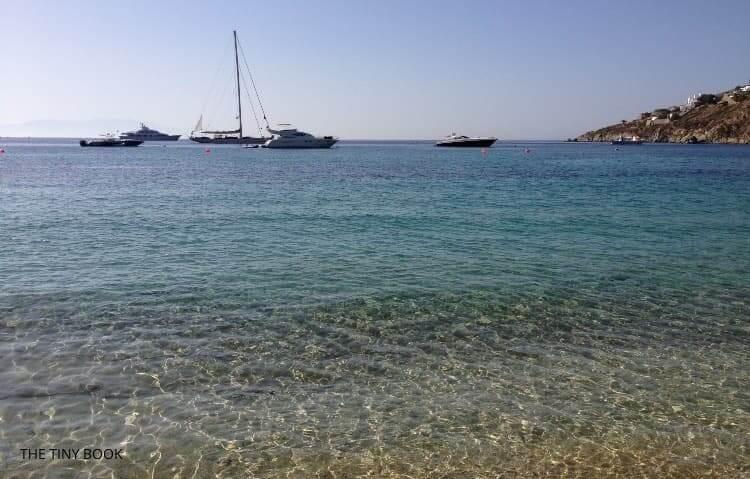 Cavo Psarou, Mykonos.