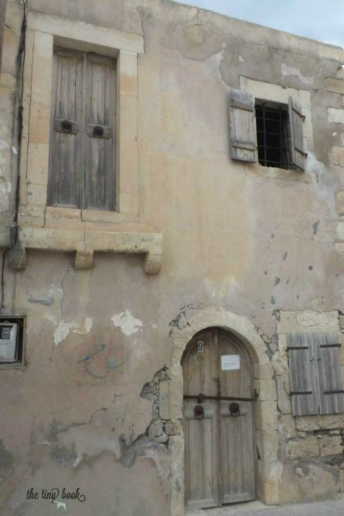 The House of Napoleon. Crete. Such a tiny place, just two windows and a door