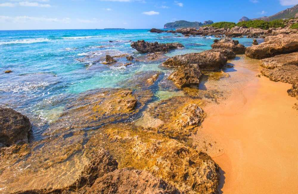 Falassarna beach, Crete