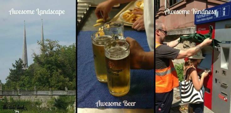 Awesome Germany: great people, fresh beer, superb green landscapes