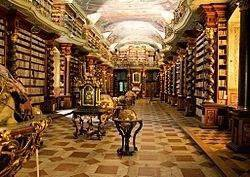 Baroque Library of the Clementinum, Prague.