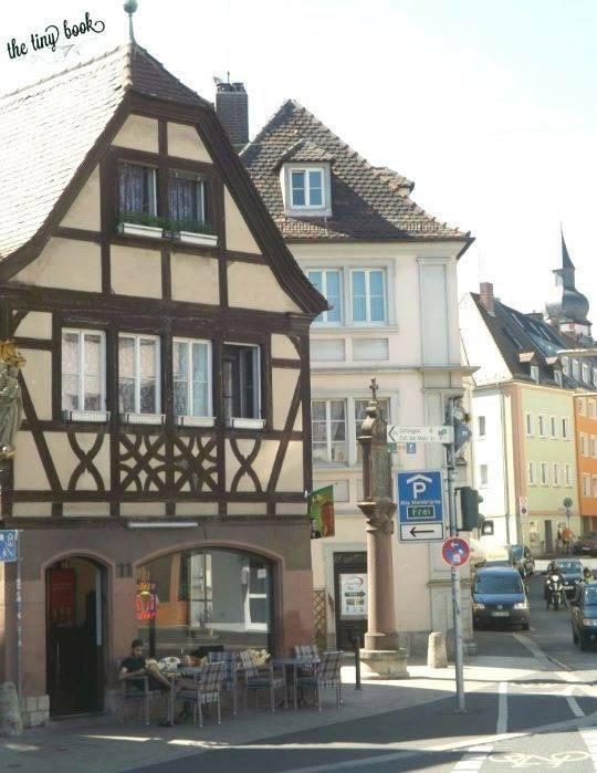 A street in Wurzburg.