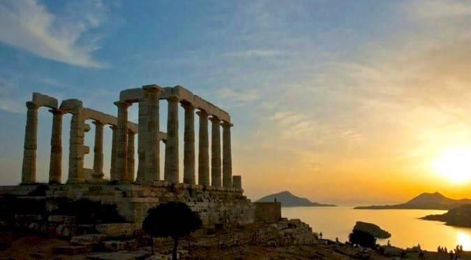 Athens Greek Nostalgia - Temple of Poseidon.