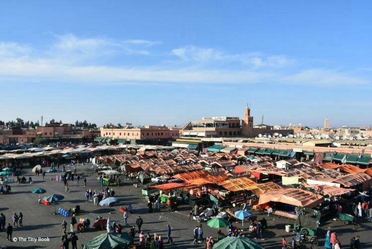 The Main Square in Marrakech