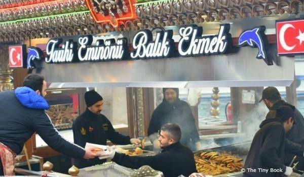 Balik Ekmek-Delicacies to try in Istanbul