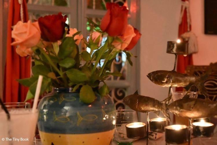 Eating in Essaouira: Café Caravane: fusion of dinner and magic.