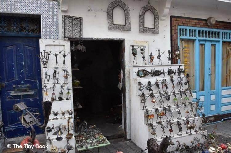 Shop in the Medina. Essaouira.