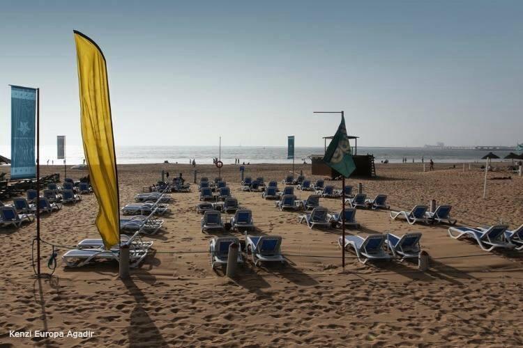 Kenzi Europa, the Beach, Best resort for kids in Agadir, Morocco