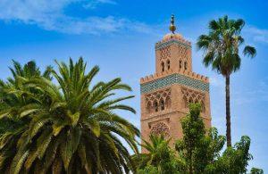 Mosque Marrakech. Morocco