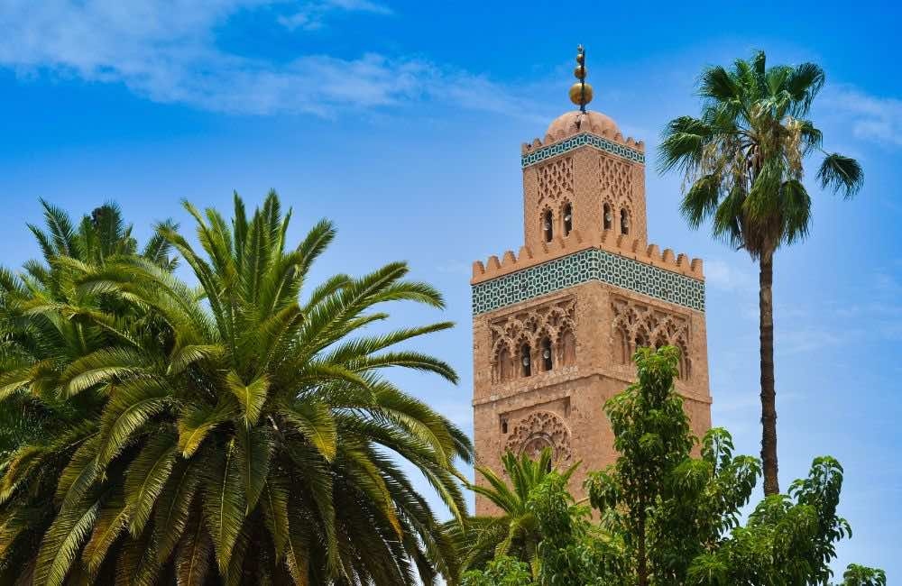 Mosque Marrakech. Morocco