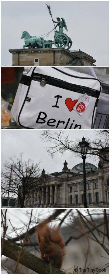 Berlin streets. World War II streets of Berlin