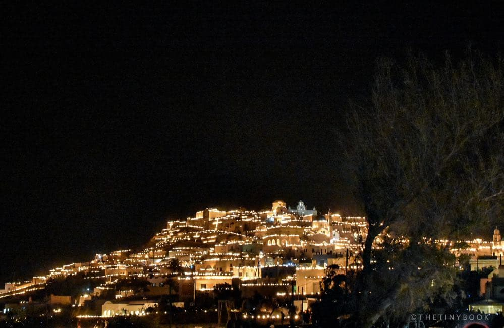 city, village, Easter, candles, Greece