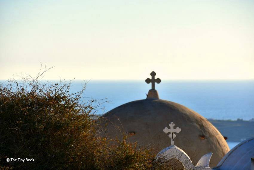 Old domes of Oia. Santorini. Santorini dreamy photo destination