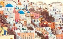 Greek Easter in Santorini: Pyrgos on Good Friday