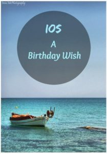Ios a Birthday Wish. Copyright: Municipality of Ios