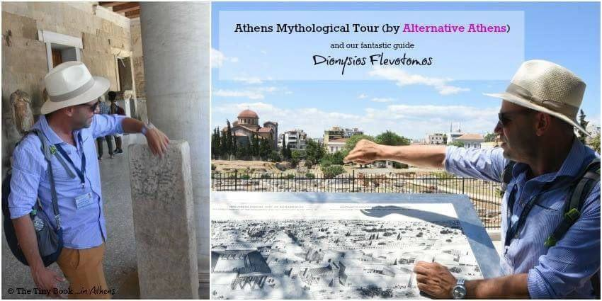 "Alternative Athens proposes this ""Mythological Tour of Athens"" a 4-hour walking tour that highlights the landmarks of the city, as well as the Architecture, Archaeology and Politics of Athens through Mythology and History. Our guide, Dionysios Flevotomos, was extremely knowledgeable, well-prepared and available to give answer to all of our questions."