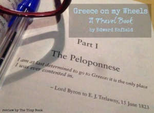 Greece on my Wheels - A travel book by Edward Enfield.