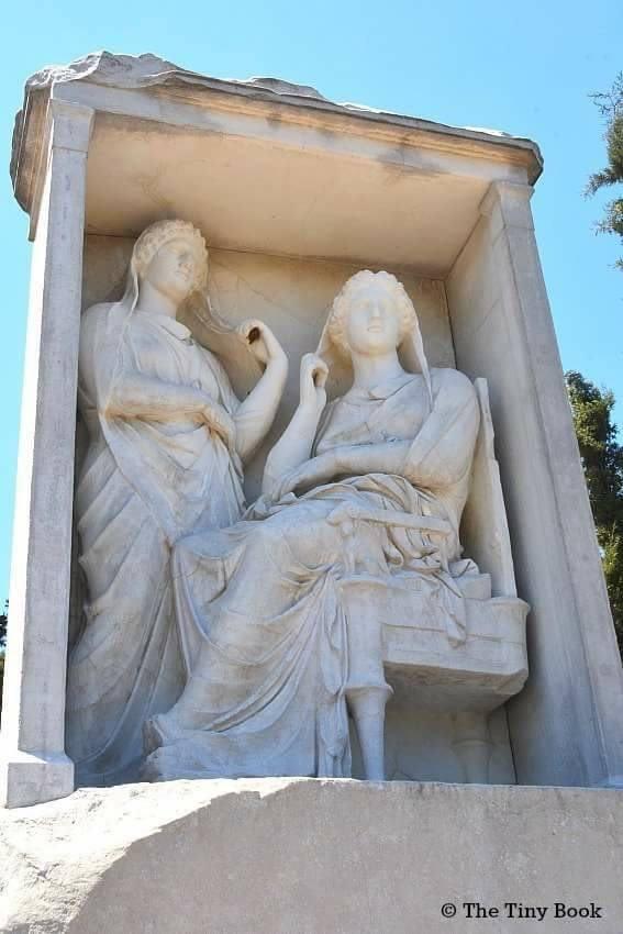 Burial monument, Kerameikos Cemetery.