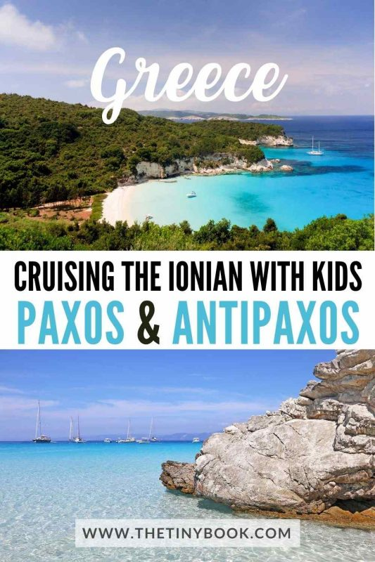 Paxos and Antipaxos: Cruising in Greece