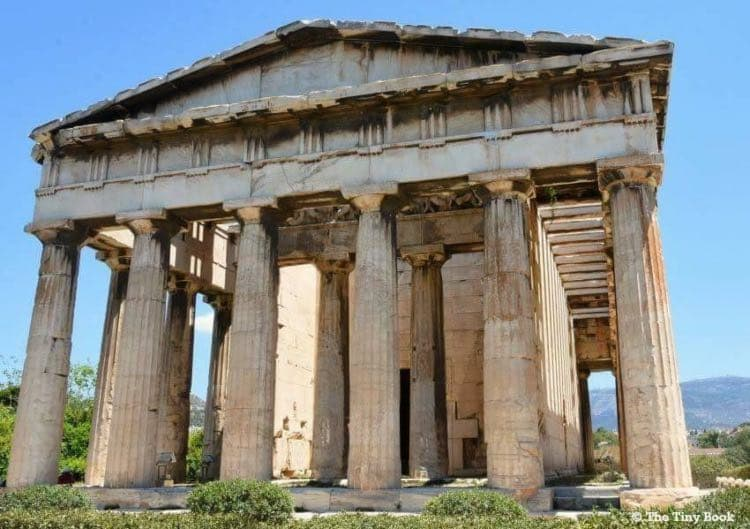 Temple of Hepahestus, Ancient Agora. Athens Mythological Tour: A walking tour of Ancient Athens