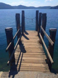 Lake Orta, Italy.