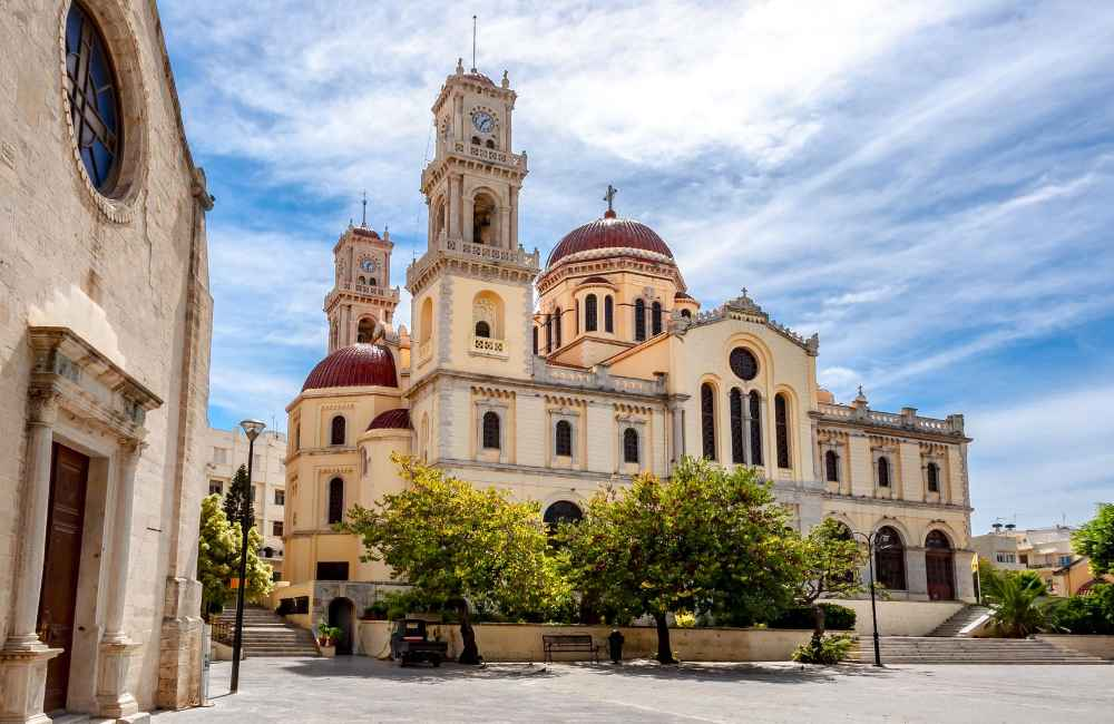 GREECE - CRETE - HERAKLION - AGIOS MINAS