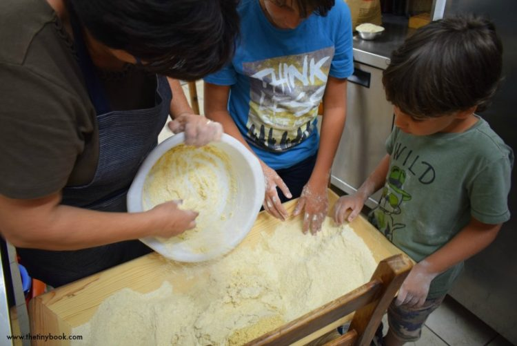 Crete: Amari Routes for Kids. A family journey through tradition in the mountain village of Thronos. Bake bread, feed goats and enjoy the Cretan lifestyle.