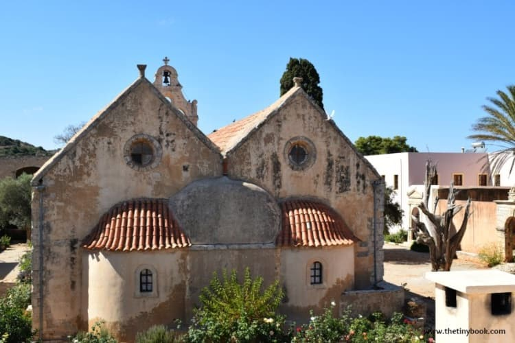 Back church in Arkadi Monastery