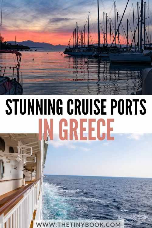Check these Stunning Cruise Ports in Greece