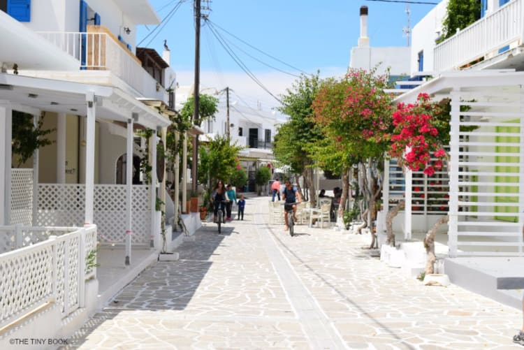 Main street, Antiparos.