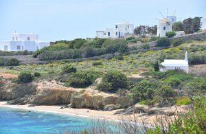 GREECE - ANTIPAROS - BEACHES OF ANTIPAROS
