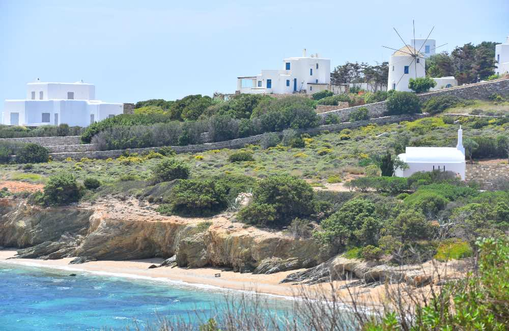 GREECE - ANTIPAROS - BEACHES OF ANTIPAROS