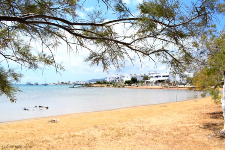 Theologos Beach, Antiparos island. Greece.