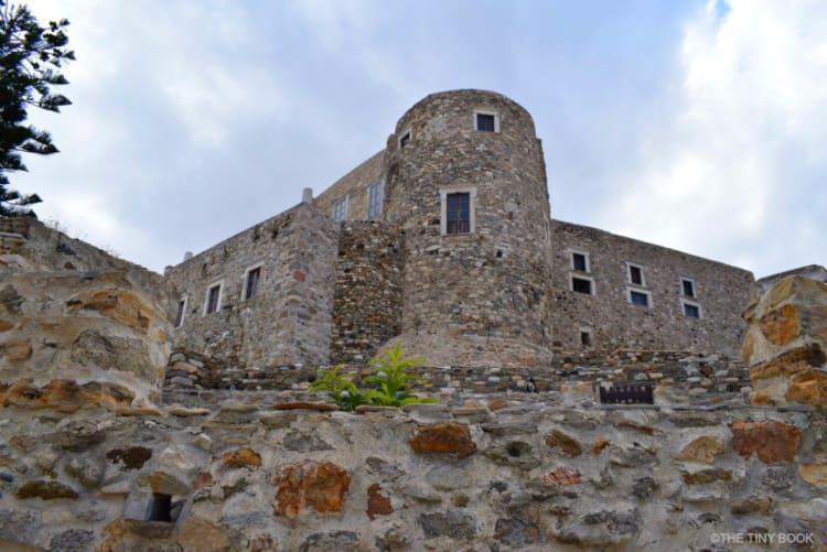 Kastro, Naxos, Cycladic islands. Greece
