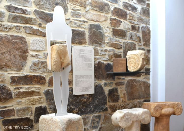 Museum, Temple of Demeter, Ano Sangri. Naxos. Greece
