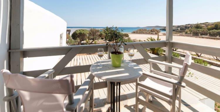 Soros beach, Antiparos island, Greece.