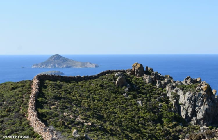 Paths of Patmos island.