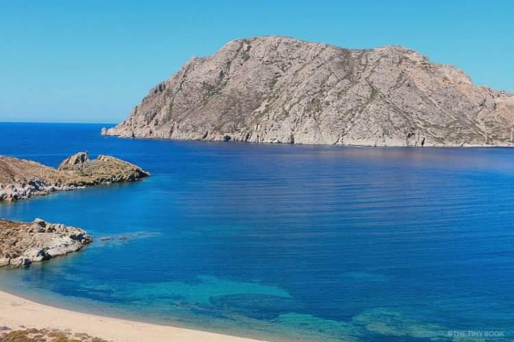 Psili Ammos beach, Patmos island