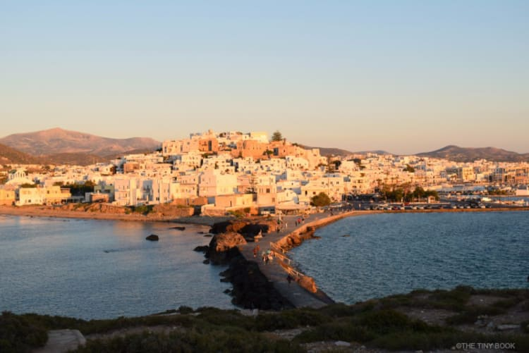Chora of Naxos, from the Portara