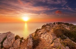 GREECE - SEA - LANDSCAPE SUNSET