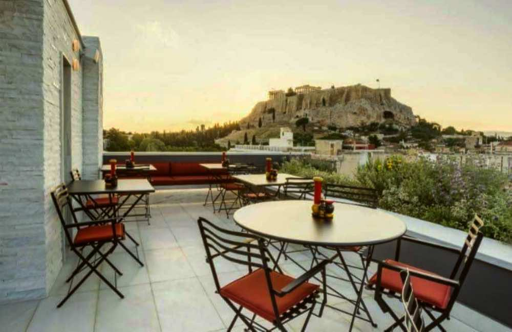 GREECE - ACROPOLIS VIEW - ROOFTOP BAR