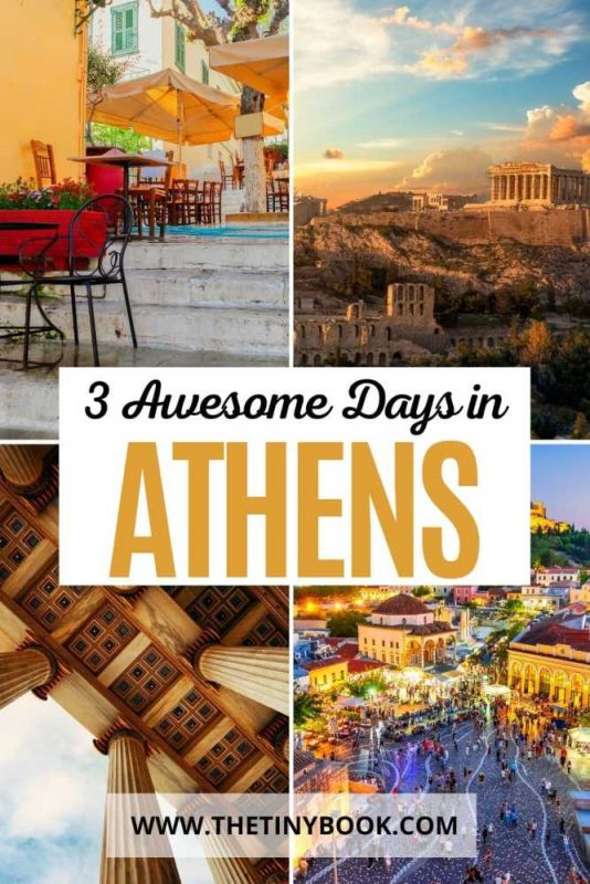Three days in Athens, Greece