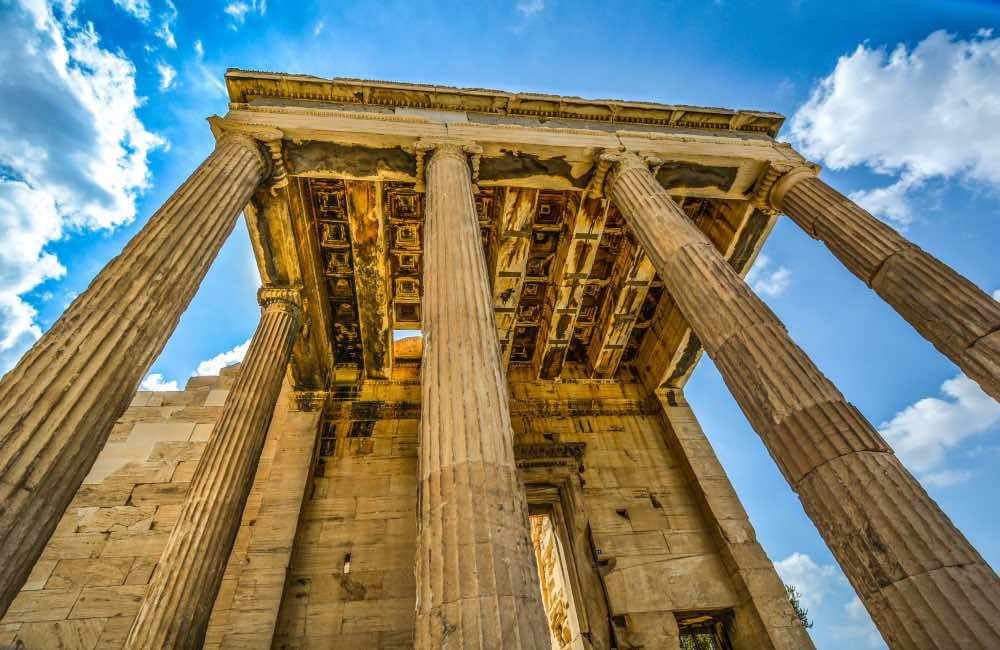 GREECE - ATHENS - TEMPLE