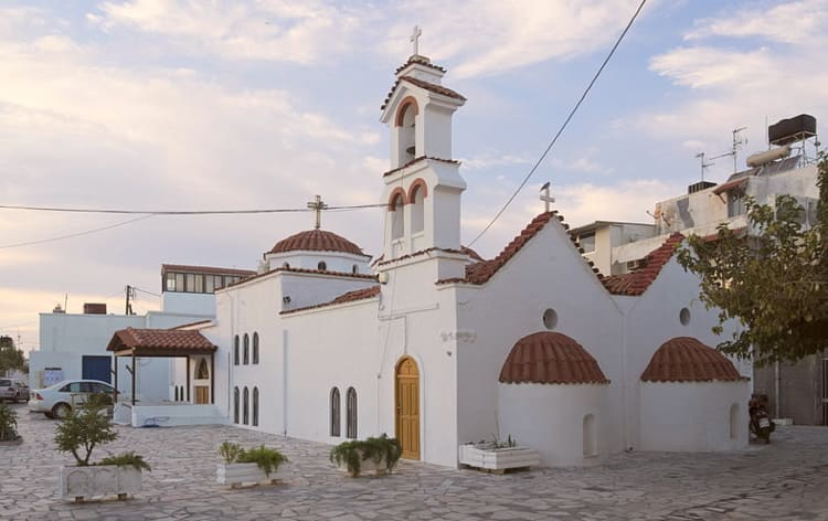 Panagia tou Kale, the oldest church in Ierapetra.