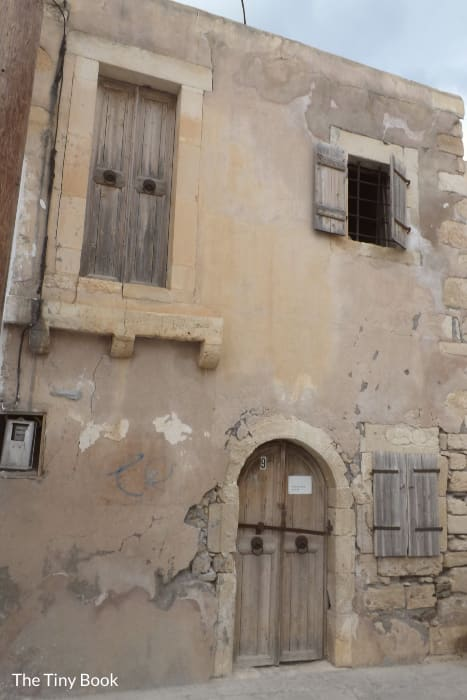 The house where Napoleon spent a night in Ierapetra, on his way to Egypt.