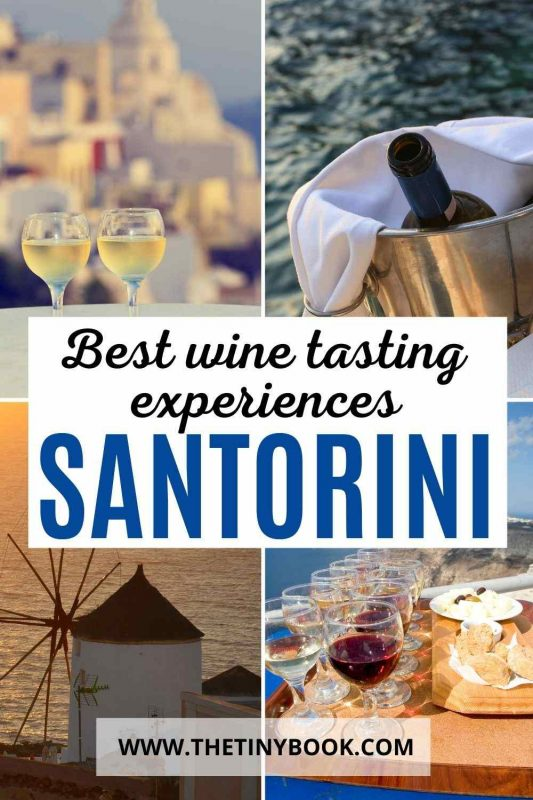 Best wine tasting experiences in Santorini