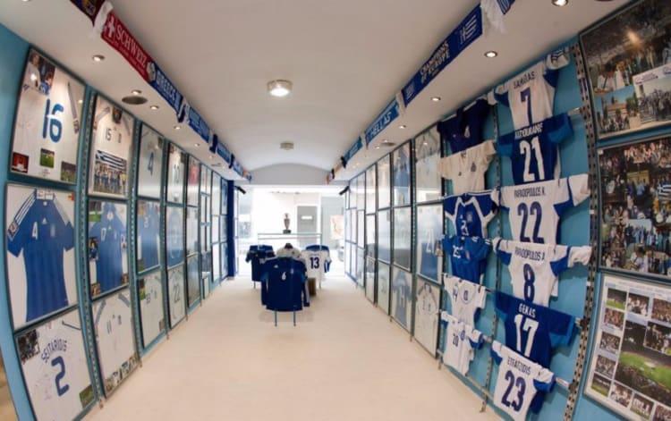 Football Museum in Chania. (Photo courtesy of the Football Museum in Chania.)