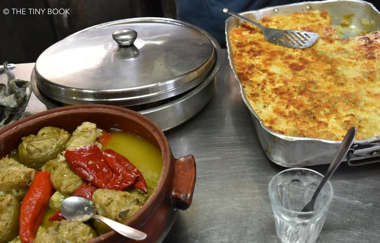 Delicious home-made food from Crete.